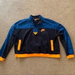 Nike Cropped Fleece Quarter Zip